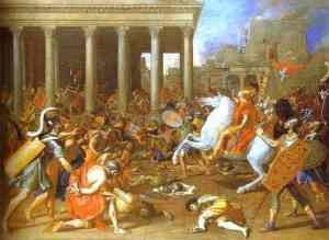 Titus and his armies destroy Jerusalem in 70 C.E.